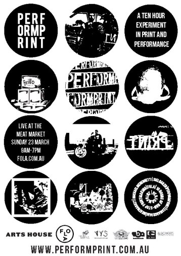 PERFORMPRINT POSTER